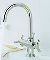 Grohe Spa Atrio Ypsilon Basin Mixer Tap With Pop-Up Waste small Image 4