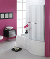 Essential Hampstead P Right Hand Shower Bath Pack 1700x900mm - EBP004 small Image 4