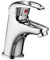Pura Dv8 Small Basin Mixer Tap With Clicker Waste small Image 4