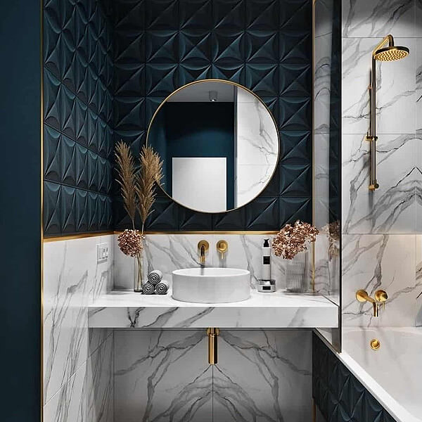 20 Beautiful Tiled Bathrooms And The Latest Interior Design Trends Qs Supplies