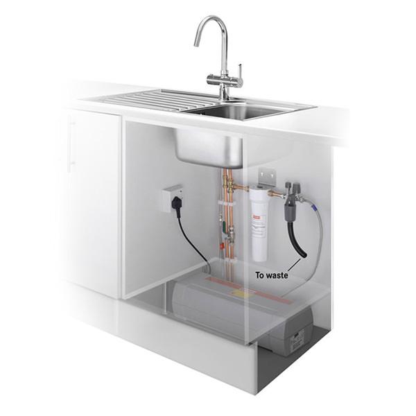 Carron Phoenix Seraphina Instant Hot Kitchen Sink Mixer Tap