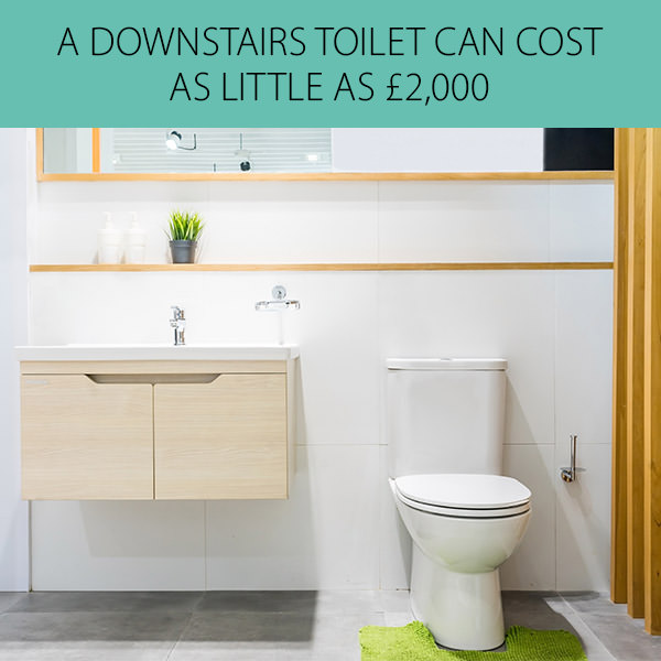 Downstairs Toilet Cost