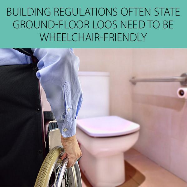 Wheelchair Friendly Toilet