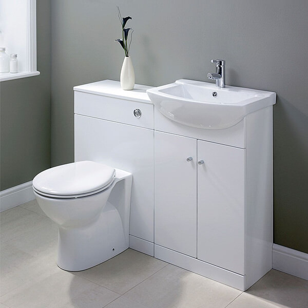 Back-to-wall toilet units