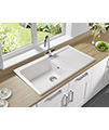 Astracast Equinox 1.0 Bowl Ceramic White Inset Sink And Tap Pack small Image 4