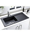 Astracast Geo 1.0 Bowl Composite ROK Metallic Inset Sink And Tap Pack small Image 4