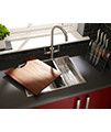 Astracast Onyx 4053 1.5 Bowl Brushed Stainless Steel Flush Inset Sink small Image 4