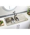 Astracast Topaz 1.5 Bowl Polished Stainless Steel Inset Sink And Tap Pack small Image 4