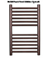 SBH Compact Slim Flat Towel Radiator 360 x 600mm - SS605 small Image 4