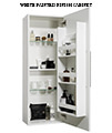 Miller New York Black Single Storage Door Tall Cabinet 400 x 1690mm small Image 4