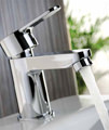 Abode Debut Monobloc Mini Basin Mixer Tap Chrome - AB1551 small Image 4