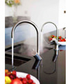 Abode Diagon Stainless Steel Single Lever Tap - AT1105 small Image 4