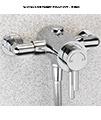 Sagittarius Ergo Universal Fit Thermostatic Slide Rail Shower Pack small Image 4