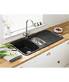 Astracast Korona 1.5B Composite ROK Metallic Inset Sink And Accessories small Image 4