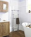 Hudson Reed Brampton 575 x 1500mm Floor Standing Heated Towel Rail small Image 4