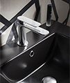 Crosswater Pier Monobloc Basin Mixer Tap Chrome small Image 4