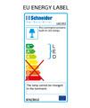 Schneider Arangaline 3 Door Mirror Cabinet 1300mm - Door Width 50/30/50cm small Image 4