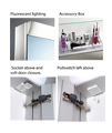 Schneider Wangaline 2 Door Mirror Cabinet 900mm small Image 4