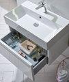 Tavistock Forum 500mm Wall Hung Vanity Unit And Basin Gloss White small Image 4