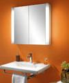 Schneider Moanaline 2 Door Mirror Cabinet 800 x 640mm small Image 4