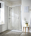 Nuie Premier Ella 1850mm High Single Sliding Shower Door small Image 4