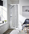 Premier Ella 760 x 1850mm Bi-Fold Shower Door small Image 4