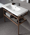 Duravit DuraStyle 800 x 480mm 1 TH Furniture Washbasin With Overflow small Image 4
