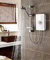 Triton Aspirante White Gloss Electric Shower 8.5 KW small Image 4