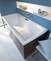 Duravit 2nd Floor Built-In 2000 x 1000mm Bath With Support Feet small Image 4