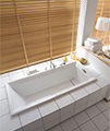 Duravit 2nd Floor Built-In 1700 x 700mm Bath With Support Feet small Image 4