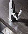 Crosswater Svelte Side Lever Kitchen Sink Mixer Tap small Image 4