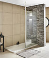 Premier Wetroom Walk-In 760 x 1850mm Shower Panel With Support Bar small Image 4