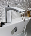 Crosswater Essence Monobloc Basin Mixer Tap Chrome - ES110DNC small Image 4