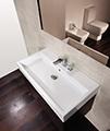 Saneux Matteo 500mm Wenge Handleless Drawer Unit With Washbasin small Image 4