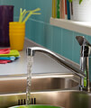 Bristan Cinnamon Kitchen Sink Mixer Tap With EasyFit Base small Image 4