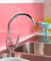 Bristan Inox 1.0 Easyfit Kitchen Sink With Raspberry Tap - SK INXRD1 SU RSP small Image 4