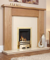Flavel Windsor Manual Control Classic Inset Gas Fire Silver small Image 4