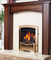 Flavel Rhapsody Slide Control Natural Gas Fire Brass Finish small Image 4