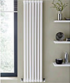 Kartell K-Rad Aspen Single Sided 1800mm Height White Vertical Designer Radiator small Image 4