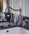 Perrin And Rowe Alsace Kitchen Sink Mixer Tap With Lever Handles small Image 4