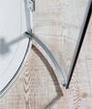Crosswater Design Quadrant Double Hinged Door Enclosure 800mm small Image 4