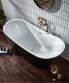 Holborn Bow Traditional 1800 x 800mm Double Ended Freestanding Bath small Image 4