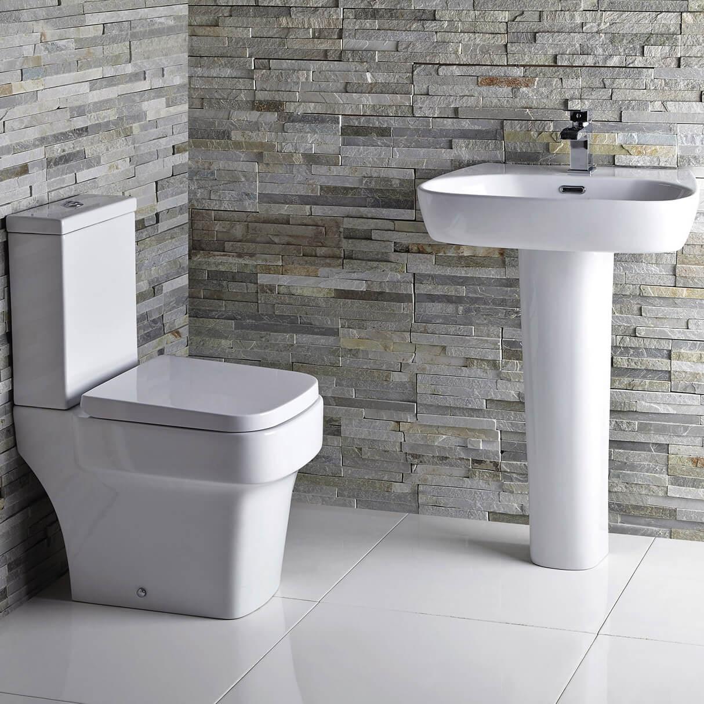 Aqua Medici 600mm 1 Taphole Basin With Full Pedestal small Image 4