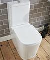 Aqua Edition Modo Flush To Wall Toilet With Soft Close Seat small Image 4