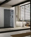 Aquaglass Plus 10mm Tinted Walk-In Front Panel small Image 4