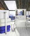 Smedbo Outline Guest 400mm Length Chrome Towel Rail small Image 4