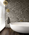 Nuance 2420mm x 1200mm Shell Postformed Wall Panel small Image 4