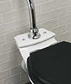 Imperial Astoria Deco White WC Pan And High Level Cistern small Image 4