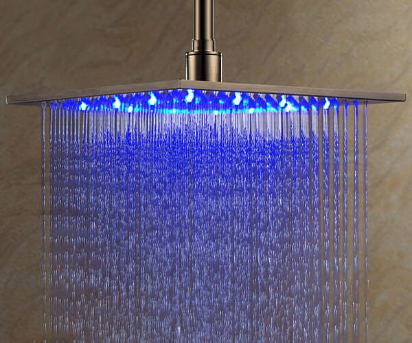 Shower Head With Light