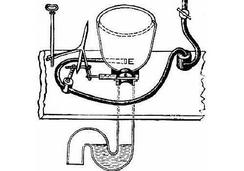 Valve Type Flush Toilet